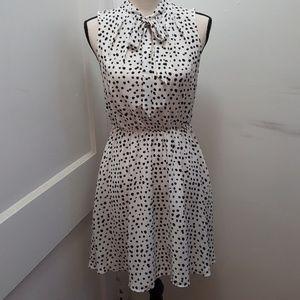 Banana Republic Women's Summer  Polka Dot Dress XS